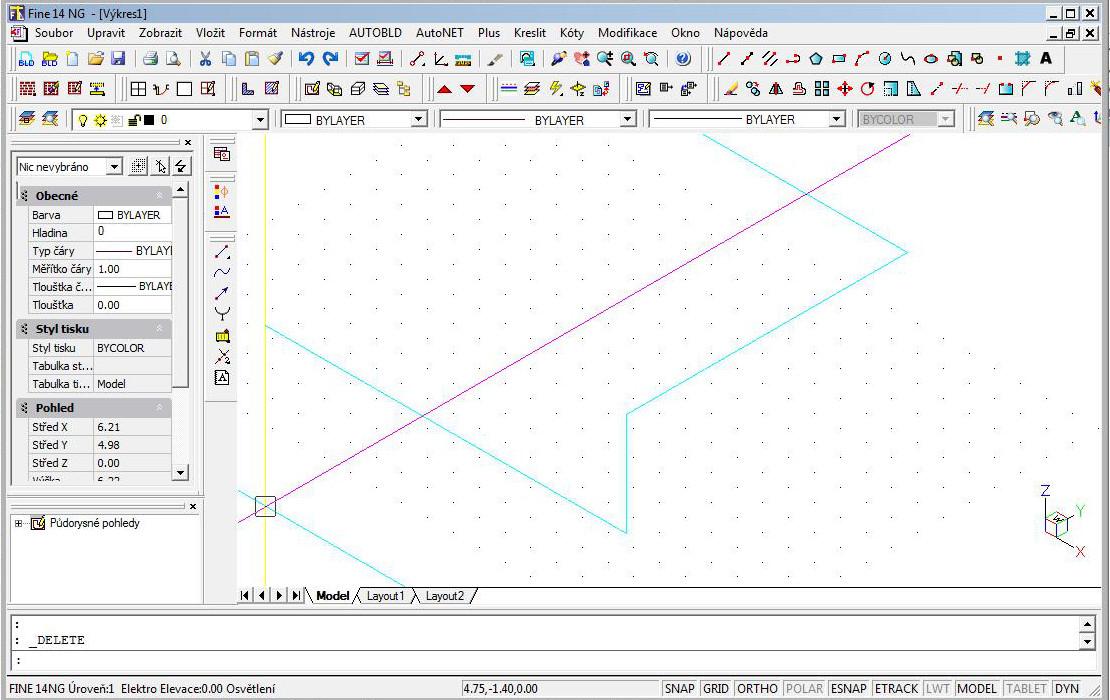 Spojení segmentů 3D