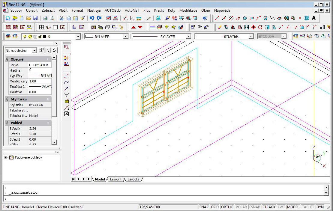 Vertikální segmenty 3D